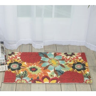 Nourison Vista Multicolor Area Rug (1'6 x 2'6)