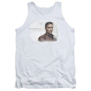 Person Of Interest/Cloud Adult Tank in White
