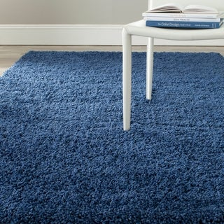 Safavieh Martha Stewart Winding Braid Ink Shag Rug (9' x 12')