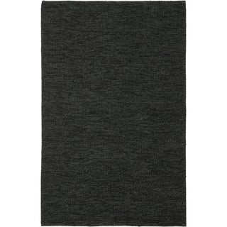 Safavieh Martha Stewart Winding Braid Ebony Jute / Cotton Rug (8' x 10')