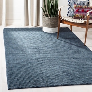 Safavieh Martha Stewart Winding Braid Ink Jute / Cotton Rug (9' x 12')