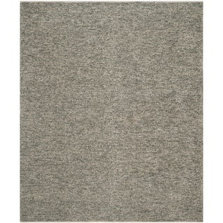 Safavieh Martha Stewart Winding Braid Oyster Jute / Cotton Rug (9' x 12')