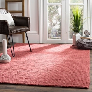 Safavieh Martha Stewart Winding Braid Adobe Jute / Cotton Rug (9' x 12')