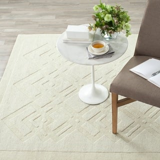 Safavieh Martha Stewart Winding Braid Ivory Wool Rug (9' x 12')