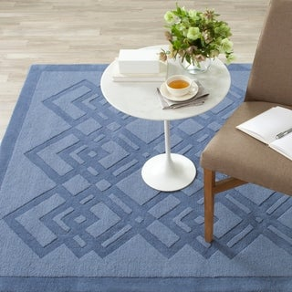 Safavieh Martha Stewart Winding Braid Ink Wool Rug (9' x 12')