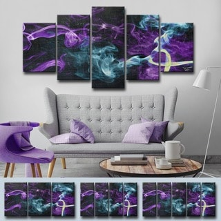 Ready2HangArt 'Glitzy Mist XVI' by Tristan Scott Canvas Art Set