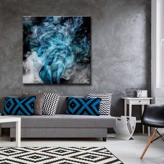 Ready2HangArt Tristan Scott 'Glitzy Mist XIV' Canvas Art