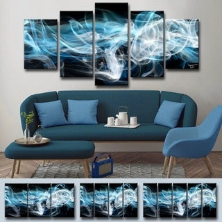 Ready2HangArt 'Glitzy Mist XIII' by Tristan Scott Canvas Art Set