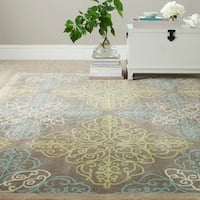 Safavieh Martha Stewart Winding Braid Moss Wool Rug - 8' x 10'