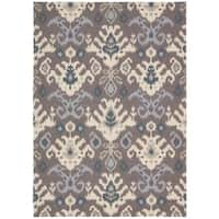 Nourison Vista Grey Area Rug (8' x 10')