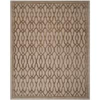 Martha Stewart by Safavieh Handmade Brown/ Bronze Wool Rug - 8' x 10'