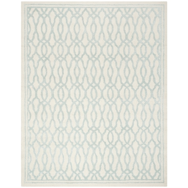 Martha Stewart By Safavieh Byzantium Dark Beige/ Black Indoor/ Outdoor Rug  (8u0027