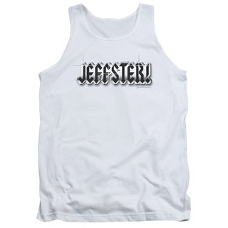Chuck/Jeffster Adult Tank in White