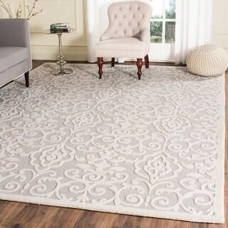 Safavieh Martha Stewart Collection Whetstone Grey Wool Rug (8' x 10')