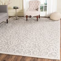 Martha Stewart by Safavieh Marais Whetstone Grey Wool Rug - 9' x 12'