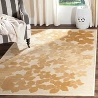 Martha Stewart by Safavieh Flower Field Dune Viscose Rug - 8' x 11'2""