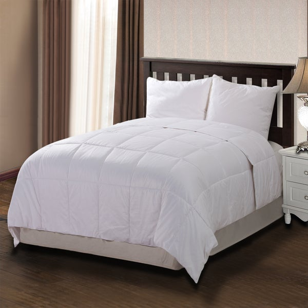 CottonLux 500 Thread Count All Natural Cotton Filled Comforter