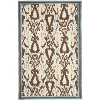Martha Stewart by Safavieh Ikat Pendant Mariner Wool Rug (9' x 12')