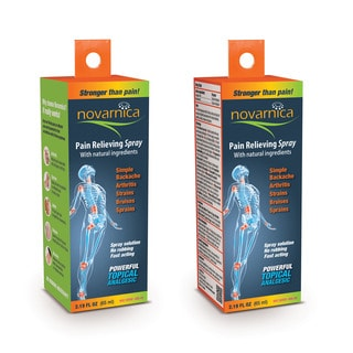 Novarnica Pain Relieving 2.19-ounce Spray (Pack of 2)