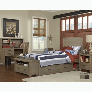 Highlands Collection Alex Driftwood Panel Twin Bed