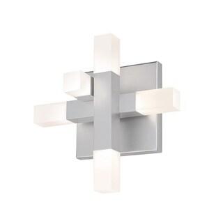 Sonneman Lighting Connetix Bright Satin Aluminum LED Wall Sconce