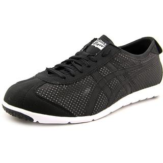 Onitsuka Tiger by Asics Men's 'Rio Runner' Black Synthetic Athletic Shoes