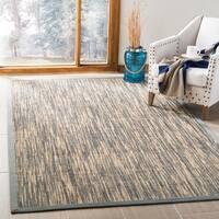 Safavieh Hand-Woven Natural Fiber Natural / Grey Sisal Rug - 9' x 12'