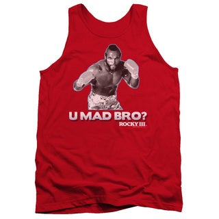 MGM/Rocky/U Mad Bro Adult Tank in Red