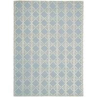 Nourison Silken Textures Grey Area Rug