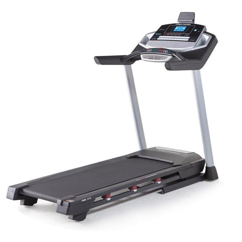 Proform Pro 1000 Treadmill, Black
