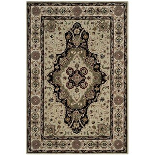 Safavieh Hand-hooked Total Performance Soft Green / Ivory Acrylic Rug (9' x 12')