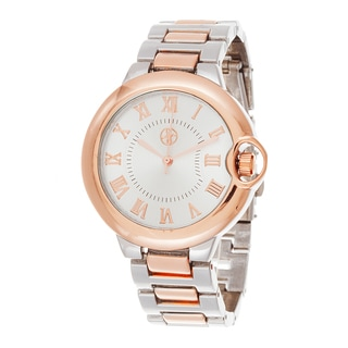 Fortune NYC Rose Gold Alloy Case and Strap w/ Roman Numerial Markers Watch