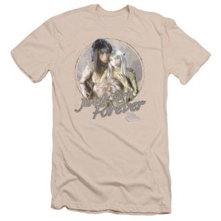 Dark Crystal/Jen & Kira Short Sleeve Adult T-Shirt 30/1 in Cream