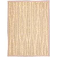 Nourison Silken Textures Blush Area Rug - 7'9 x 9'9