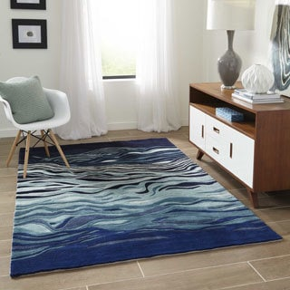 Hand-Tufted New Wave Valley Wool Rug (2' x 3')