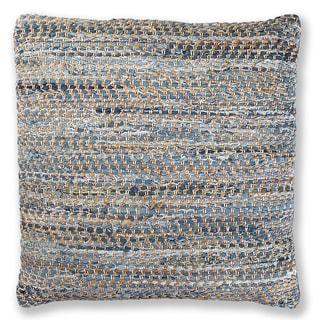 Blue Jeans & Hemp 27-inch Throw Pillow