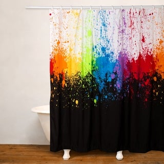 Crayola Cosmic Burst Water Repellent Shower Curtain