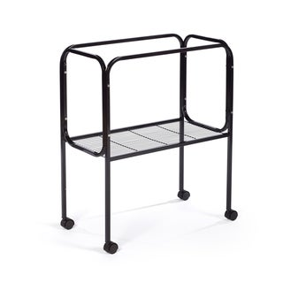 Prevue Pet Products Black Steel Bird Cage Stand for 26 x 14 Base Flight Cages