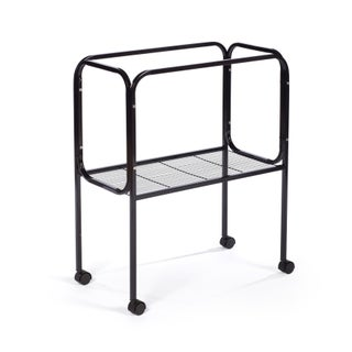 Prevue Pet Products Black Steel Bird Cage Stand for 26 x 14 Base Flight Cages (Option: Black)