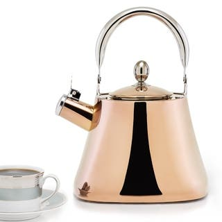 DuraCopper Callisto 3.1 Qt./ 3.0 L. Tea Kettle|https://ak1.ostkcdn.com/images/products/12662213/P19449789.jpg?impolicy=medium