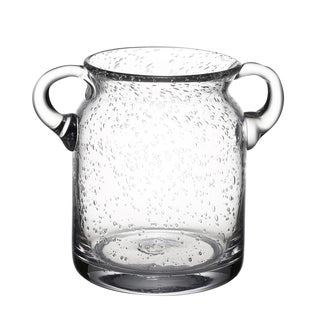 Clear Glass 9-inch x 5.5-inch x 7.5-inch Ice Bucket