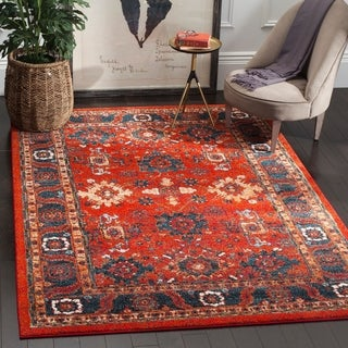 Safavieh Vintage Hamadan Orange / Blue Rug (9' x 12')