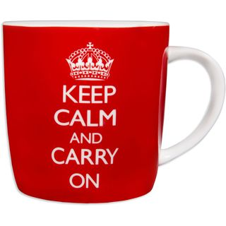 'Keep Calm' Fine China Mug In Decorative Tin