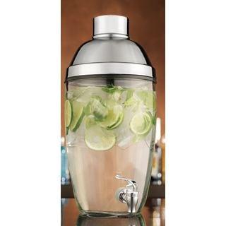 Mixologo Clear Glass 1.8-gallon Shaker Dispenser