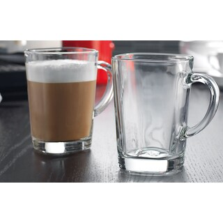 Soho Cafe Square Coffee Mug (Set of 4)