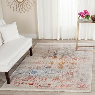 Safavieh Vintage Persian Light Grey / Multicolored Rug (8' x 10')