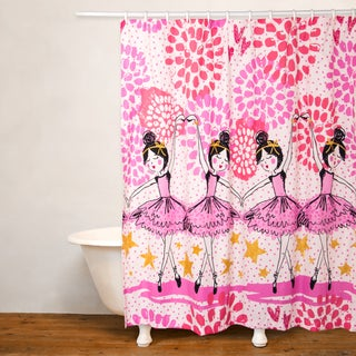 Crayola Twinkle Toes Shower Curtain