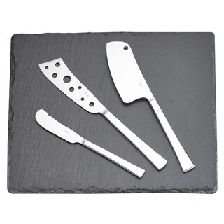 Cheese Knives Set with slate board