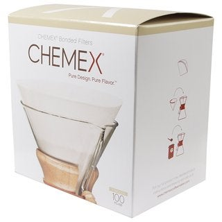 Chemex Paper Prefolded Circle Coffee Filters
