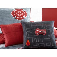 Firefighter Rescue Interactive 16-inch Pillow